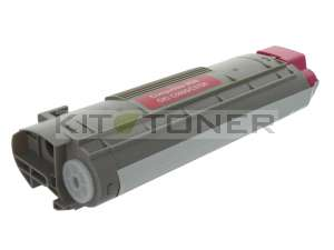 Oki 43381906 - Cartouche toner compatible Magenta