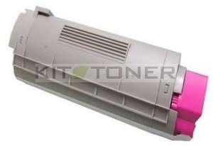 Oki 43324422 - Cartouche de toner compatible magenta