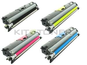 Oki 44250723, 44250721, 44250722, 44250724 - Pack de 4 toners compatibles 4 couleurs