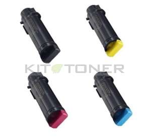 Xerox 106R03690, 106R03691, 106R03692, 106R03480 - Pack de 4 cartouches compatibles 4 couleurs