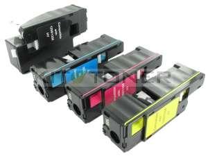 Dell 59311021, 59311019, 59311018, 59311140 - Pack de 4 toners compatibles (Noir, Cyan, Magenta, Jaune)