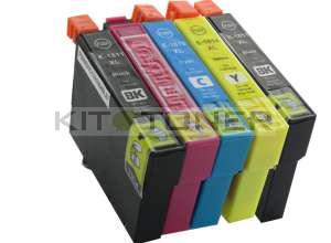 Epson C13T18164010 - Pack 5 cartouches d'encres compatibles