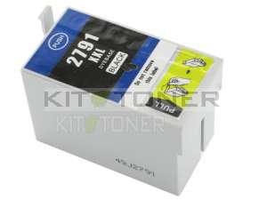 Epson C13T27914010 - Cartouche d'encre compatible noire 27XL