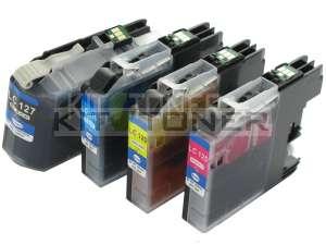 Brother LC125VALBP - Pack de 4 cartouches d'encre compatibles XL