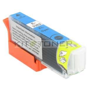 Epson C13T33624010 - Cartouche d'encre compatible cyan 33XL