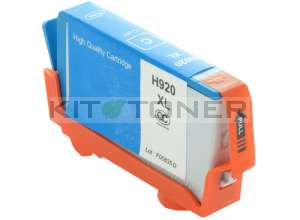 HP CD972AE - Cartouche d'encre compatible cyan 920XL