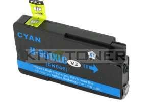 Cartouche HP 951 - Cartouche d'encre compatible cyan CN046AE