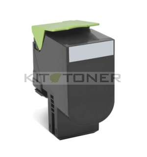 Lexmark 80C2SK0 - Cartouche toner compatible noir