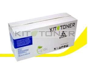 Oki 43837129 - Cartouche de toner compatible jaune