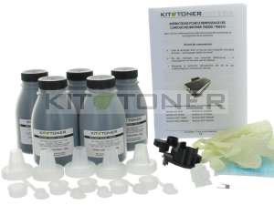 Brother TN2220 - Lot de 5 kits de recharge toner compatibles
