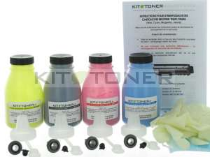 Brother TN246C, TN246Y, TN246M, TN246K - Kit de recharge toner compatible 4 couleurs