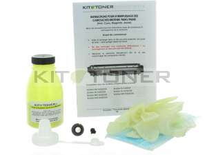 Brother TN246Y - Kit de recharge toner compatible jaune