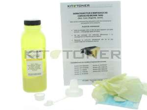 Brother TN326Y, TN321Y - Kit de recharge toner compatible Jaune