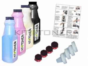 Dell 59310067, 59310062, 59310063, 59310061 - Kit de recharge toner compatible 4 couleurs
