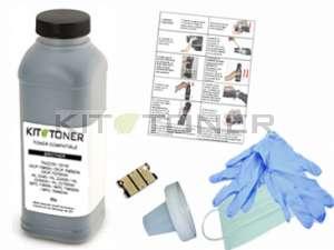 Epson S050557 - Kit de recharge toner compatible noir