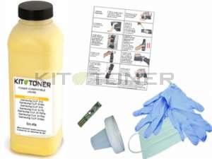 Epson S050627 - Kit de recharge toner compatible jaune