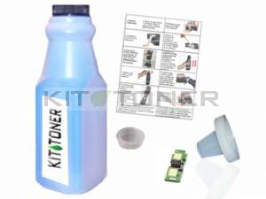 HP Q9701A - Kit de recharge toner compatible Cyan