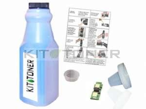 Konica 1710589007 - Kit de recharge toner compatible Cyan