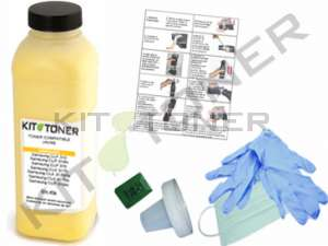 Oki 43865721 - Kit de recharge toner compatible Jaune
