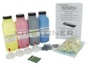 Samsung CLTC406S, CLTY406S, CLTM406S, CLTK406S - Kit de recharge toner compatible 4 couleurs