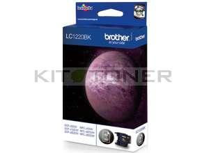 Brother LC1220BK - Cartouche d'encre LC1220BK noire de marque