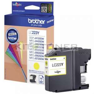 Brother LC223Y - Cartouche d'encre jaune LC223Y
