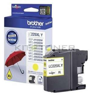 Brother LC225XLY - Cartouche d'encre jaune LC225XLY