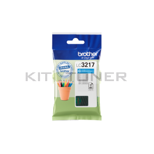 Brother LC3217C - Cartouche d'encre cyan LC3217C