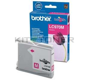 Brother LC970M - Cartouche d'encre d'origine magenta