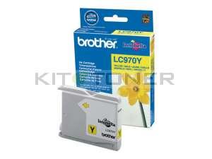 Brother LC970Y - Cartouche d'encre d'origine jaune