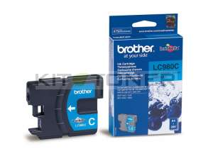 Brother LC980C - Cartouche d'encre d'origine cyan