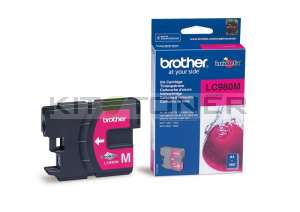 Brother LC980M - Cartouche d'encre d'origine magenta
