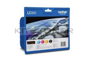 Brother LC985VALBP - Pack de 4 cartouches d'encre LC985VALBP