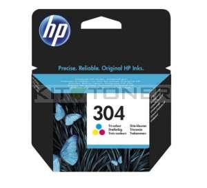 HP N9K05AE - Cartouche d'encre couleur de marque HP 304