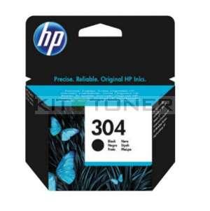 HP N9K06AE - Cartouche d'encre noire de marque HP 304