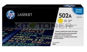 HP Q6472A - Cartouche de toner d'origine jaune