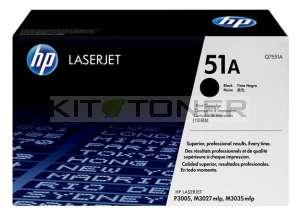 HP Q7551A - Cartouche de toner d'origine 51A