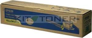 Epson S050474 - Cartouche toner jaune d'origine
