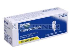 Epson S050611 - Cartouche de toner d'origine jaune