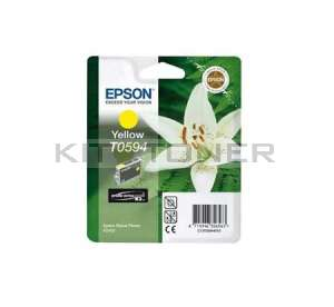 Epson C13T059440 - Cartouche d'encre jaune de marque T0594