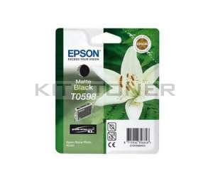 Epson C13T059840 - Cartouche d'encre noire mat de marque T0598