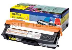 Brother TN325Y - Cartouche toner jaune TN325Y
