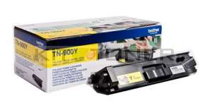 Brother TN900Y - Cartouche de toner d'origine jaune