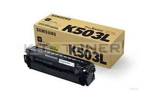 Samsung CLTK503L - Cartouche toner d'origine noir