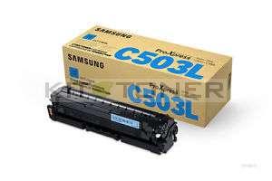 Samsung CLTC503L - Cartouche toner d'origine cyan