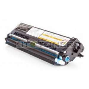 Brother TN910C - Cartouche de toner compatible cyan
