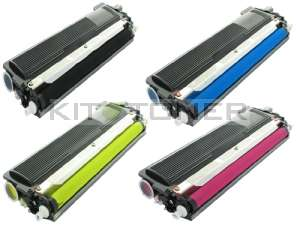Brother TN230M, TN230Y, TN230BK, TN230C - Pack de 4 toners compatibles 4 couleurs