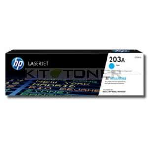 HP 203A - Toner cyan de marque 203A