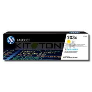 HP 203X - Toner jaune de marque 203X