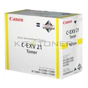 Canon 0455B002 - Cartouche toner d'origine jaune CEXV21